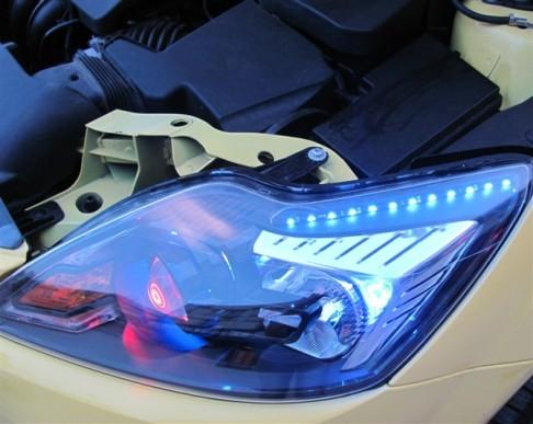 福克斯车灯改装升级