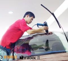 奔驰艾维诺V70太阳膜施工案例