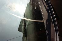 蘭博基尼玻璃雨刮刮痕處理前后對比圖