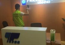 绿博士环保为广州大型国企除甲醛