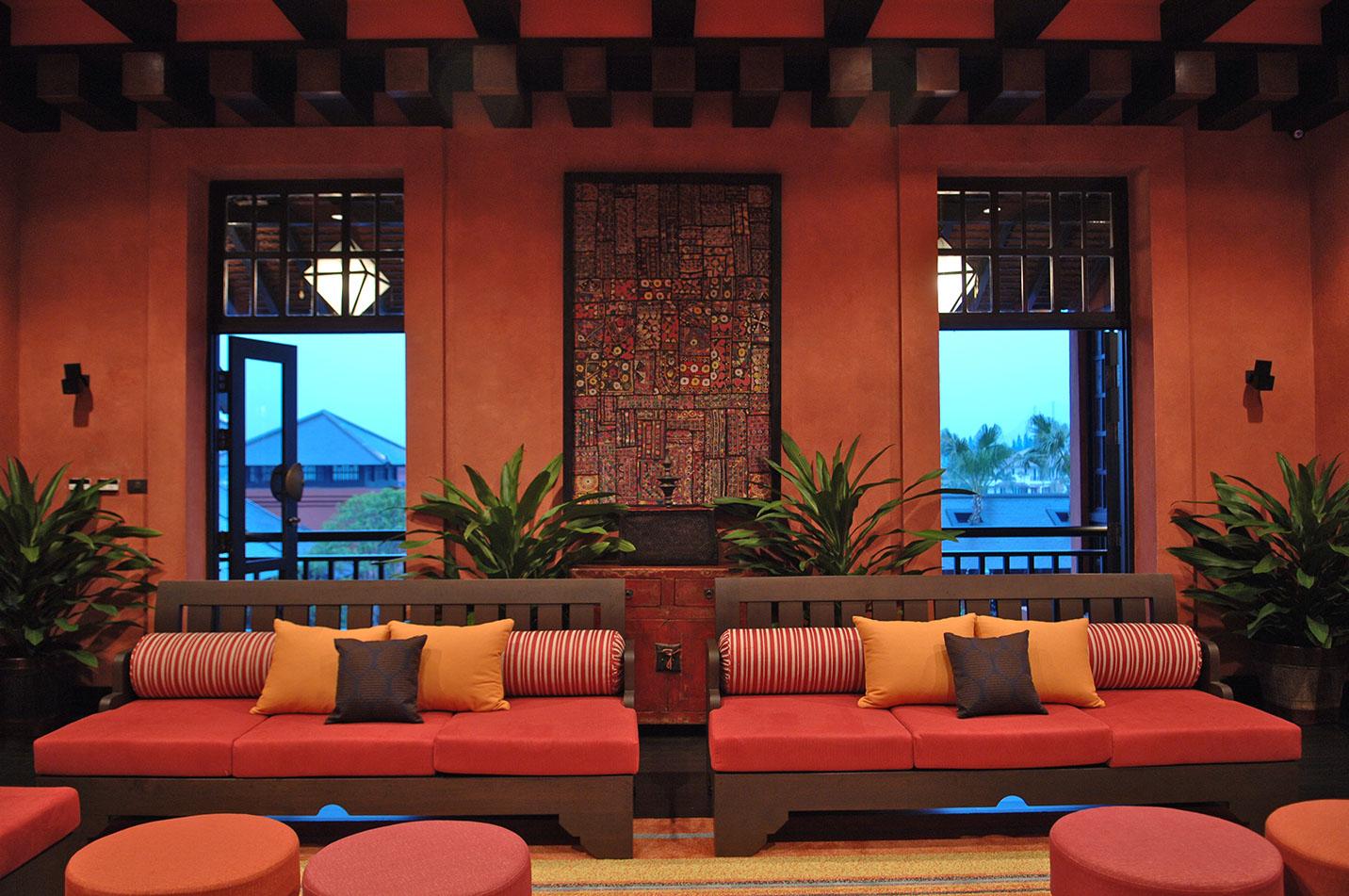 上海會所休息區設計