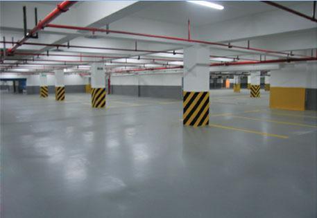 地下车库用的耐磨地坪