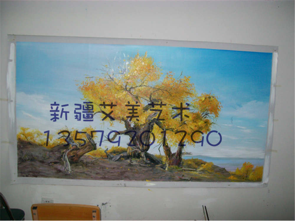 喀什墙体彩绘,阿克苏墙绘 ,阿克苏手绘,新疆墙绘,新疆手绘,新疆壁画