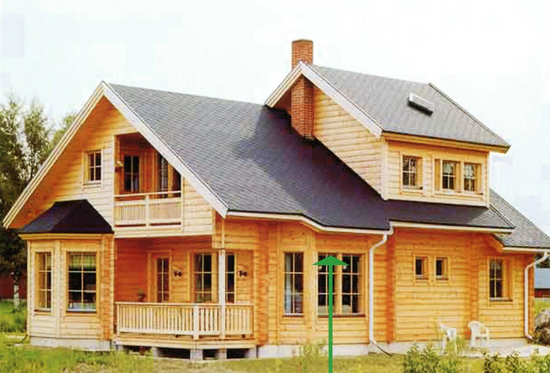 木屋2层别墅图片