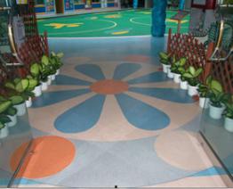 彩砂环氧树脂地坪涂装