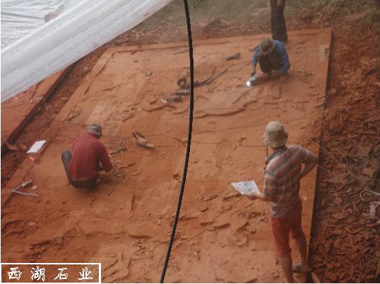 西湖-红砂岩浮雕