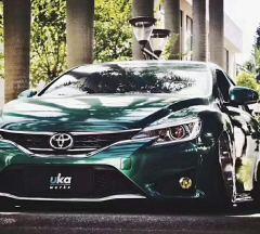 丰田86 金属祖母绿车身改色膜施工案例,效果如何  请欣赏