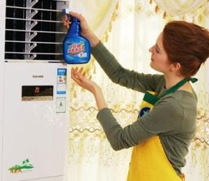 空调清洗对比案例