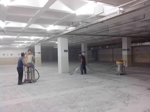 扬州环氧地坪施工前期基面处理方法