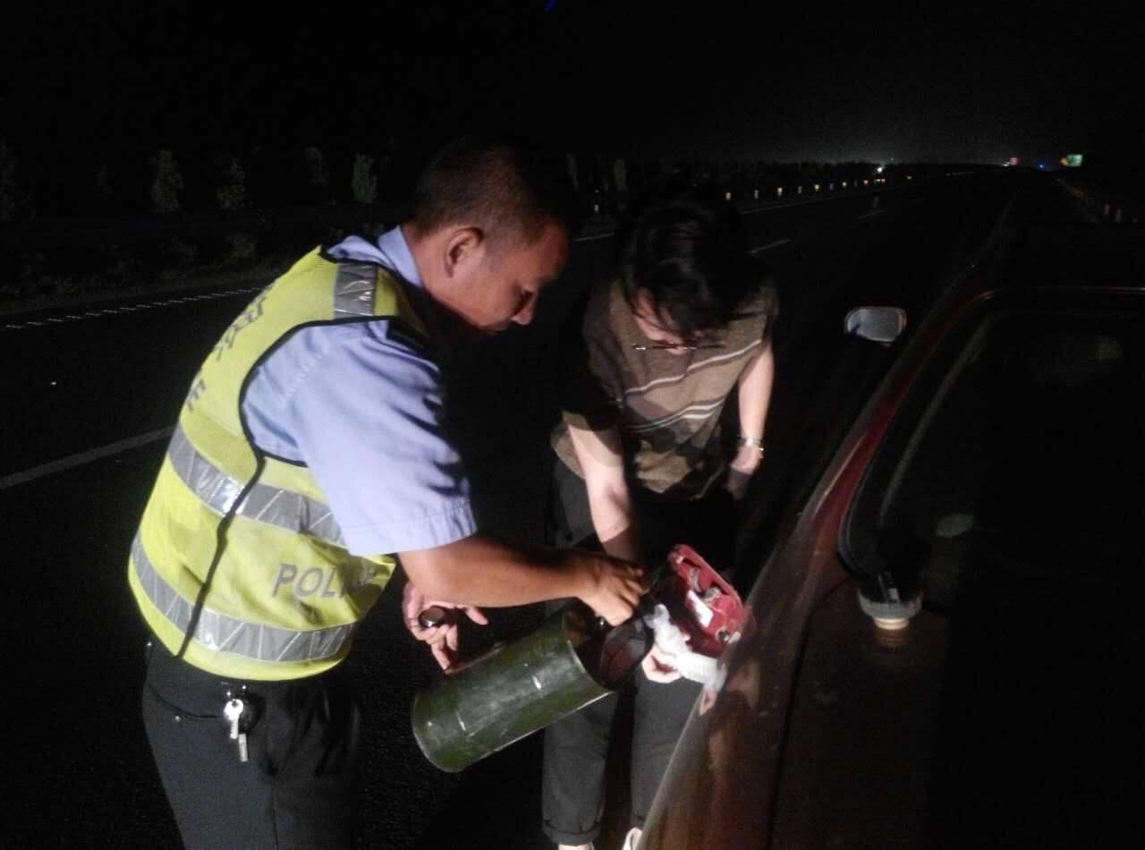 淄博高速汽车送油送水救援服务