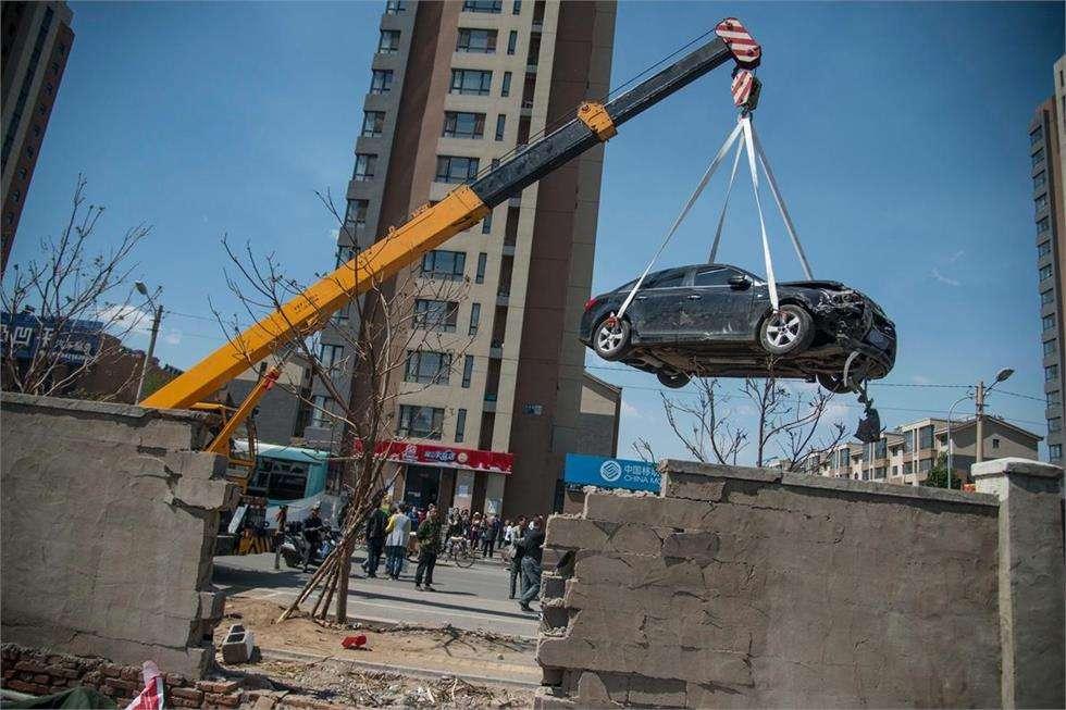 淄博专业吊车救援服务