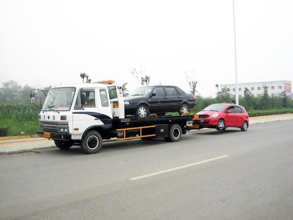 晋中道路救援拖车案例