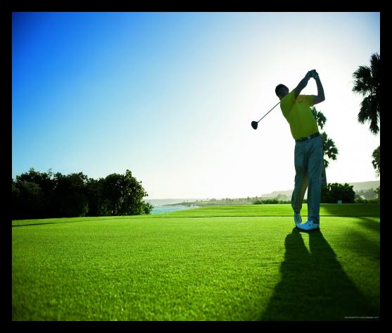 高尔夫挥杆娱乐健身