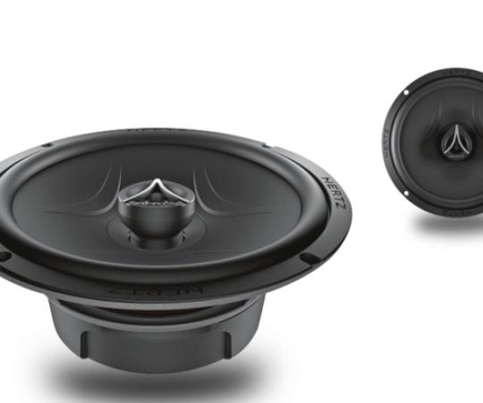 HERTZ赫兹同轴喇叭6.5寸汽车音响高音头中低音喇叭无损ECX165.5