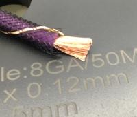 瑞典DLS德利仕8号电源线发烧汽车音响线材一米