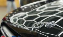 黑色奔驰GLC260选择suntek美国顶级隐形车衣