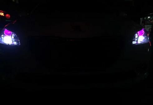 标志301大灯改装