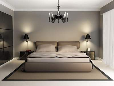 萧山现代感卧室装修