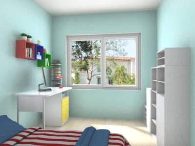 小清新儿童房