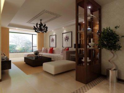 简约式客厅