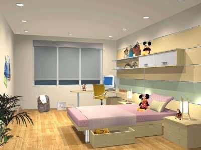 萧山儿童房装修