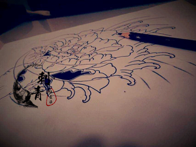 纹身手稿-517刺青工作室