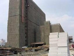 輕質磚隔墻工程現場圖