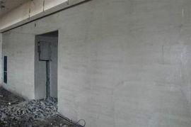 輕質磚墻面粉刷圖