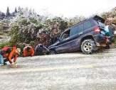 霸州汽车雪地困境救援案例