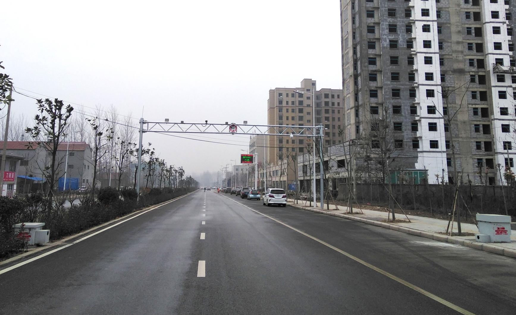 鹿邑遥感固定门站实景1