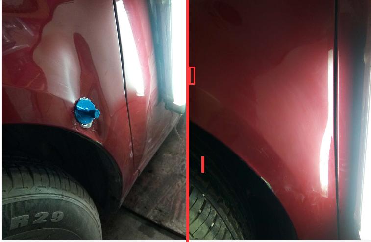 贵阳专业事故车修复、凹凸修复、全车翻新