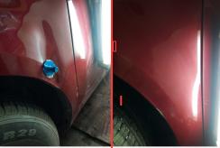 贵阳汽车凹陷修复前后对比照