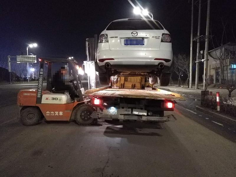 界首汽车夜间救援案例