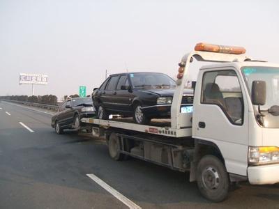 蒙城高速事故道路救援案例