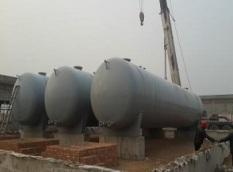 河南诚信加油站双层油罐改造施工案例