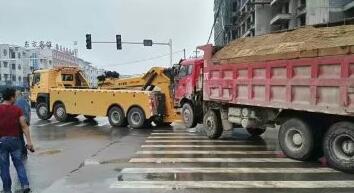 蒙城道路救援案例