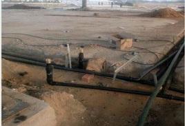 加油站复合管道因为采用特殊的复合材料制作可以有效防止油品渗透管道壁向外扩散