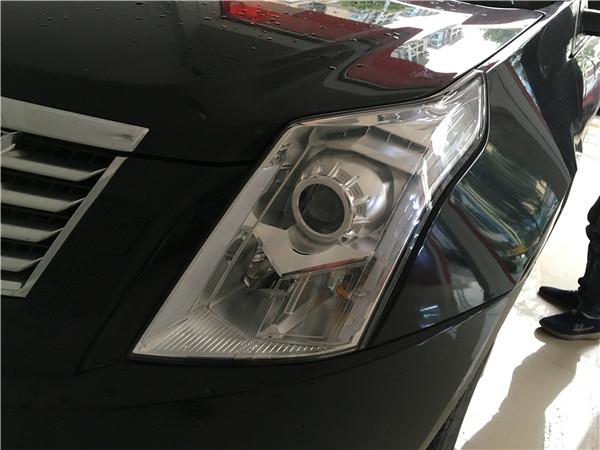 12款凯迪拉克SRX改GTR透镜+飞利浦WHV+套餐展示5
