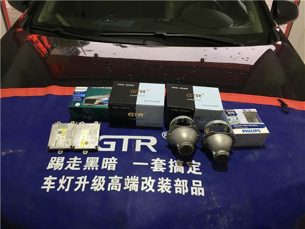12款凯迪拉克SRX改GTR透镜+飞利浦WHV+套餐展示8