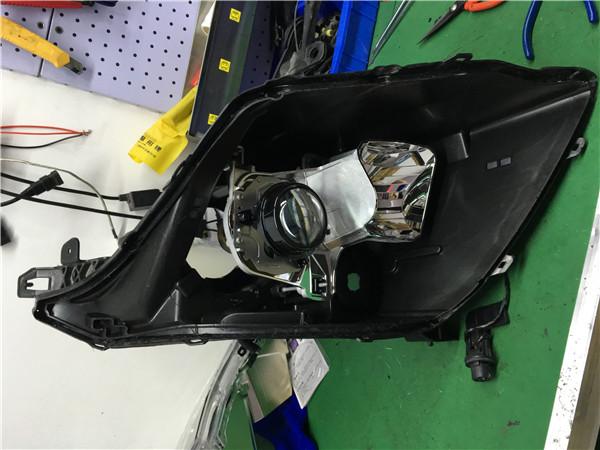 12款凯迪拉克SRX改GTR透镜+飞利浦WHV+套餐展示10