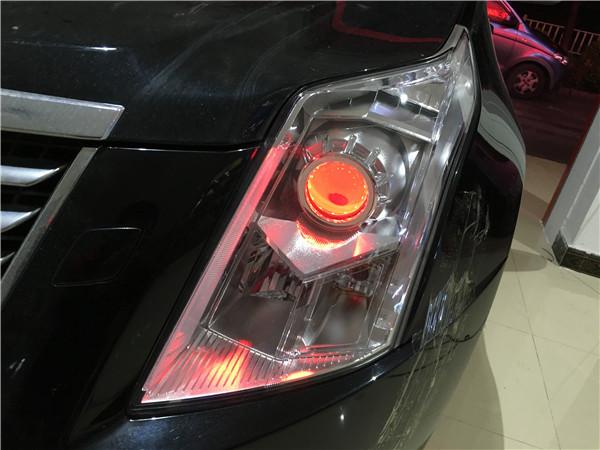 12款凯迪拉克SRX改GTR透镜+飞利浦WHV+套餐展示15