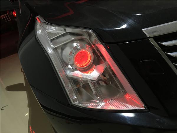 12款凯迪拉克SRX改GTR透镜+飞利浦WHV+套餐展示14