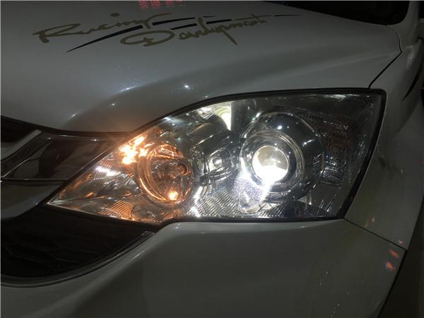12本田CRV改渔眼海5透镜+欧司朗CBi案例十二