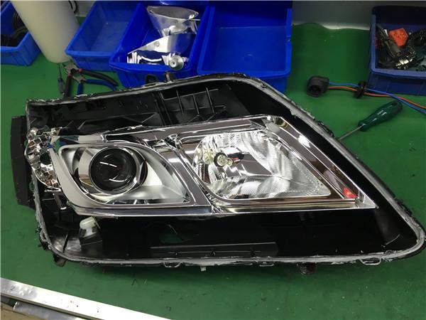 17款本田凌派改GTR透镜案例
