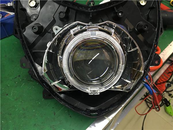 雅馬哈 smax155 改GTR透镜案例展示