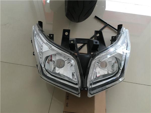 阳光赛艇250女装麾托车改GTR透镜案例展示