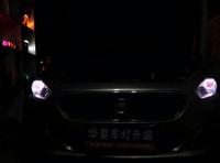 菲亚特 菲翔升级海拉5 天使眼 恶魔眼,德阳华夏改灯案例!