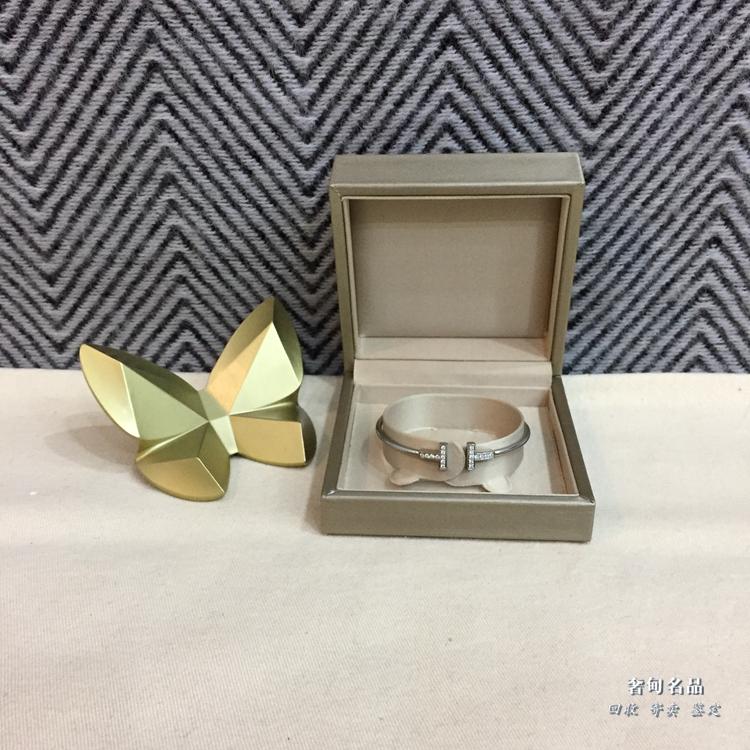 二手闲置转让正品寄卖Tiffany&Co 黄金单钻 项链