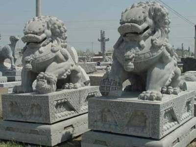石雕动物案例