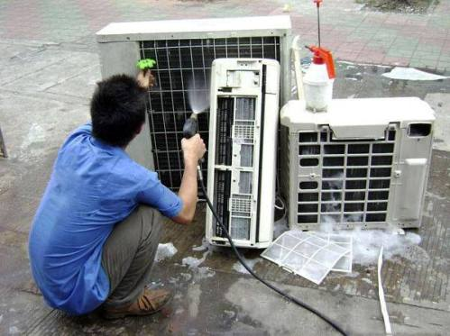 空调主机清洗